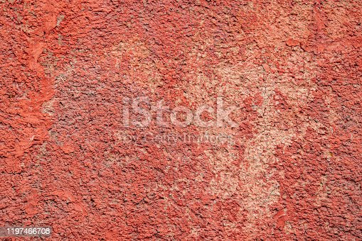 Red abstract concrete wall surface texture background