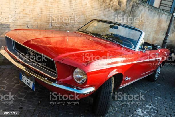 Red convertible ford mustang in rome italy picture id688589866?b=1&k=6&m=688589866&s=612x612&h=jkm9qztryrbdfm1dwiodpbbp iplls2kovjazkldb5m=