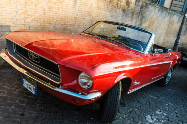 Red convertible ford mustang in rome italy picture id688589866?b=1&k=6&m=688589866&s=612x612&w=0&h=iq kybmuo nhes5xcdpkyjnddppjc2qexosdqxvfhaq=