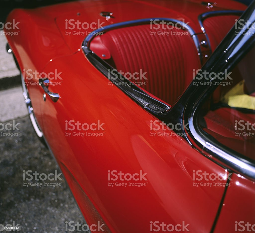 Red convertible foto de stock libre de derechos