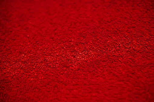 Red Cotton Texture Red Cloth Background Close Up View Of Red Cotton Texture And Background Abstract Background And Texture For Designers Stock Photo