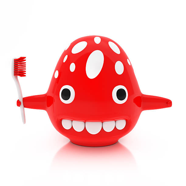 Red creature with toothbrush isolated on white background picture id528779579?b=1&k=6&m=528779579&s=612x612&w=0&h=j9nzf1htvs4wy nyvw8bm6arnbptnlj4s1 416qs5me=