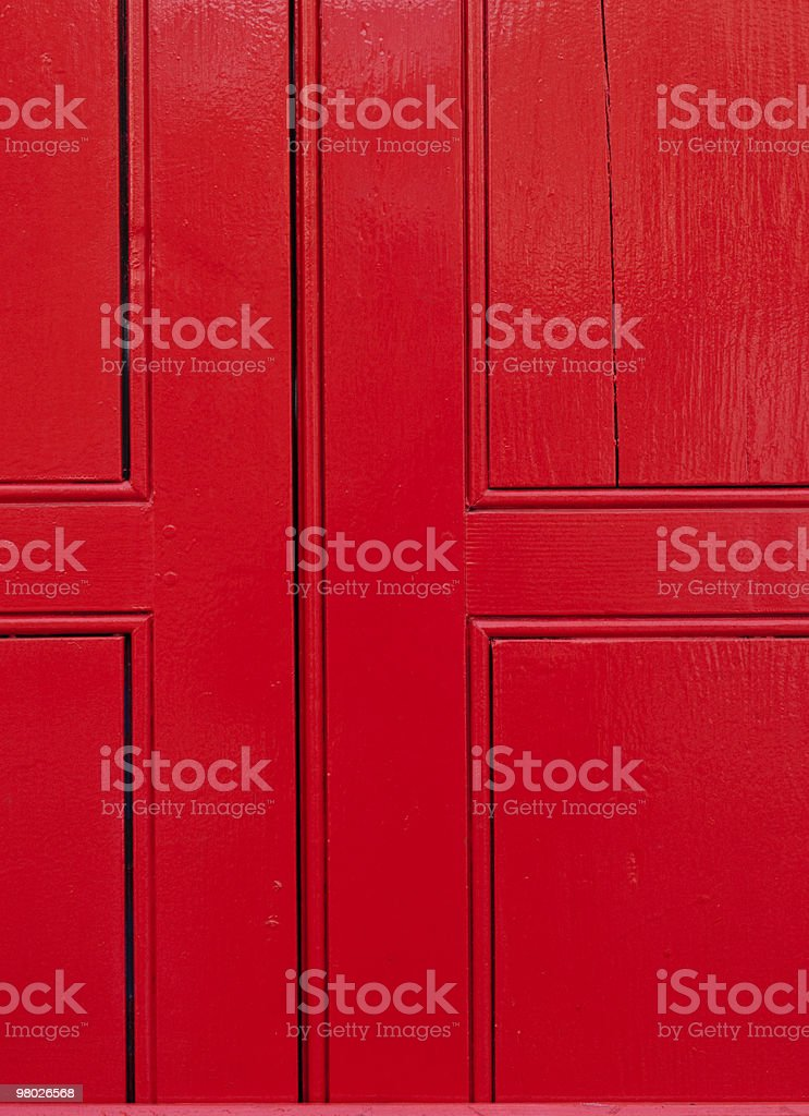 Red cross royalty-free stock photo