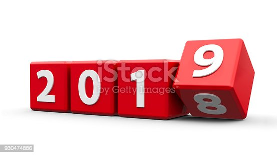 istock Red cubes 2019 930474886
