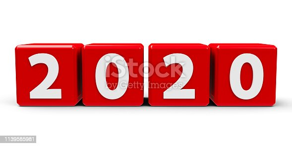 istock Red cubes 2020 #2 1139585981