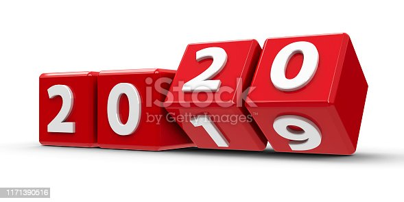 istock Red cubes 2020 #4 1171390516