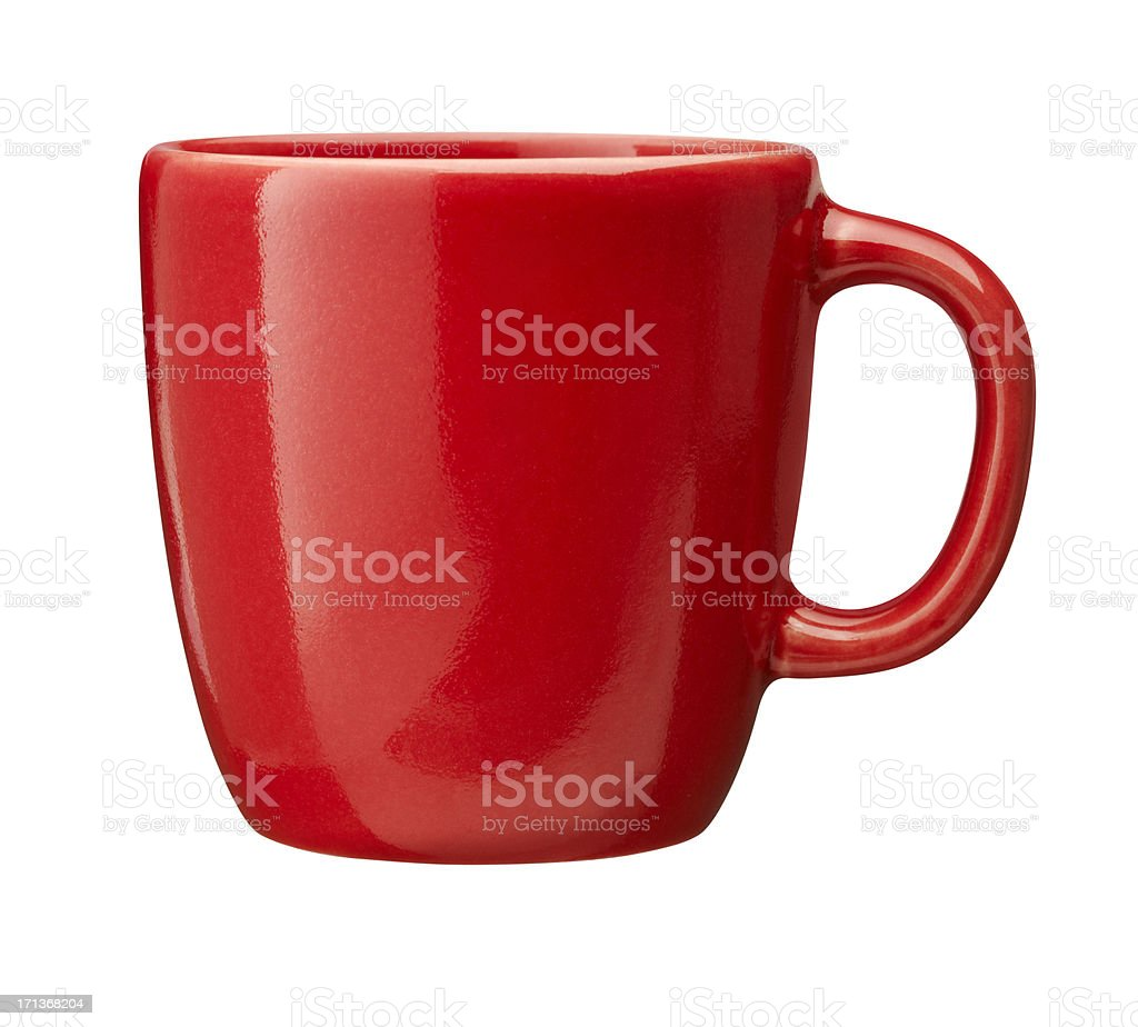 red Cup (clipping path included)