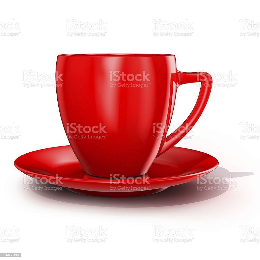red cup royalty-free stock photo