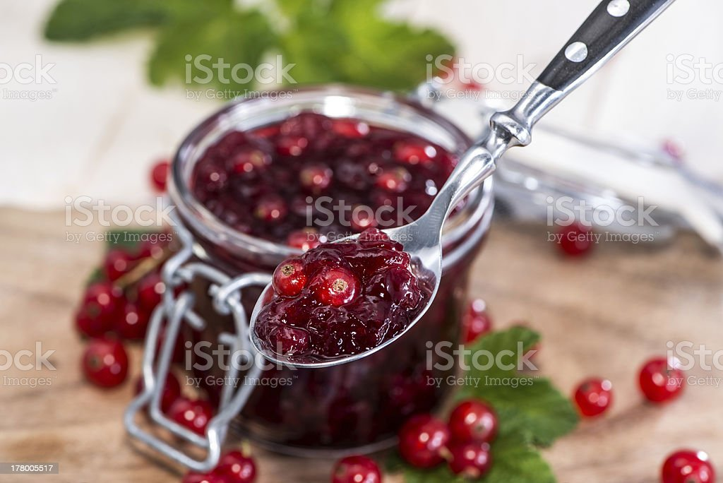 Red Currant Jam royalty-free stock photo