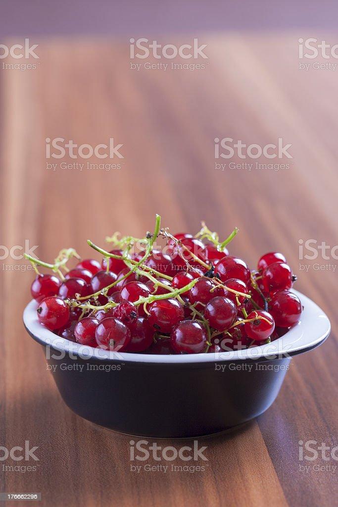 Grosella roja foto de stock libre de derechos