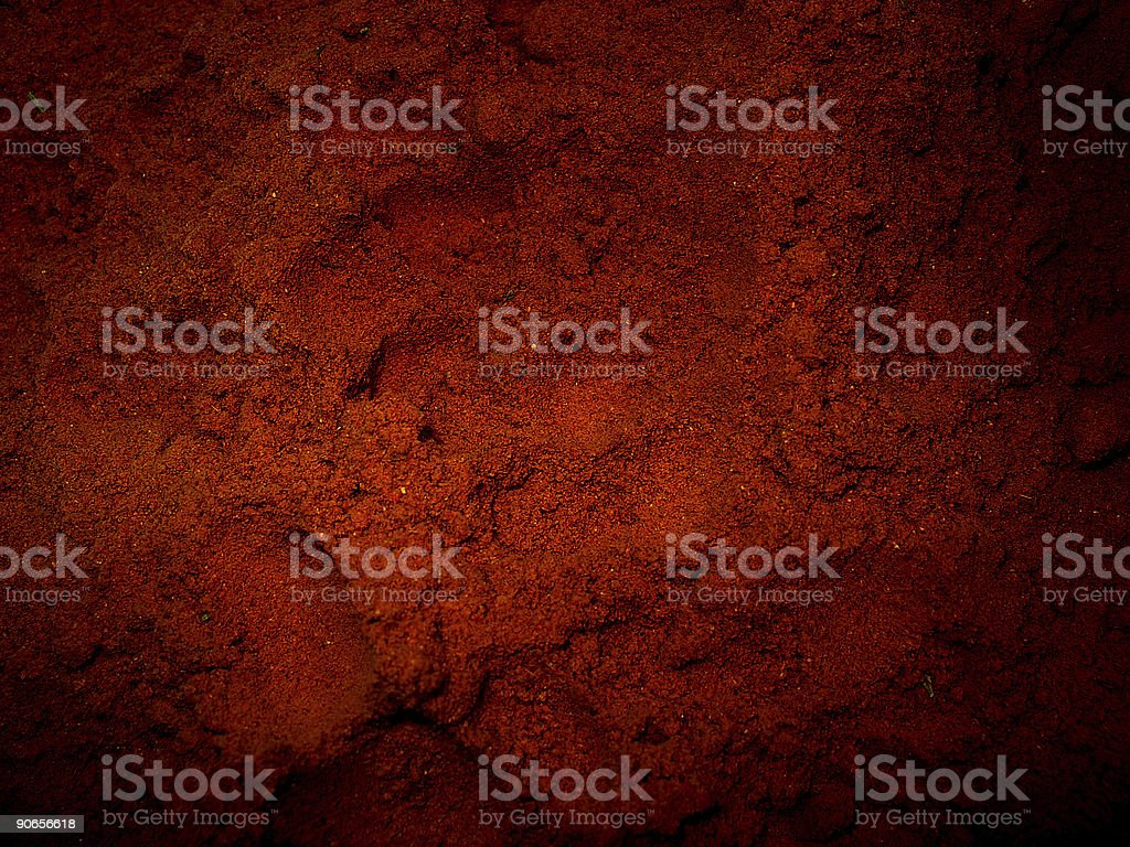 red curry alienation stock photo
