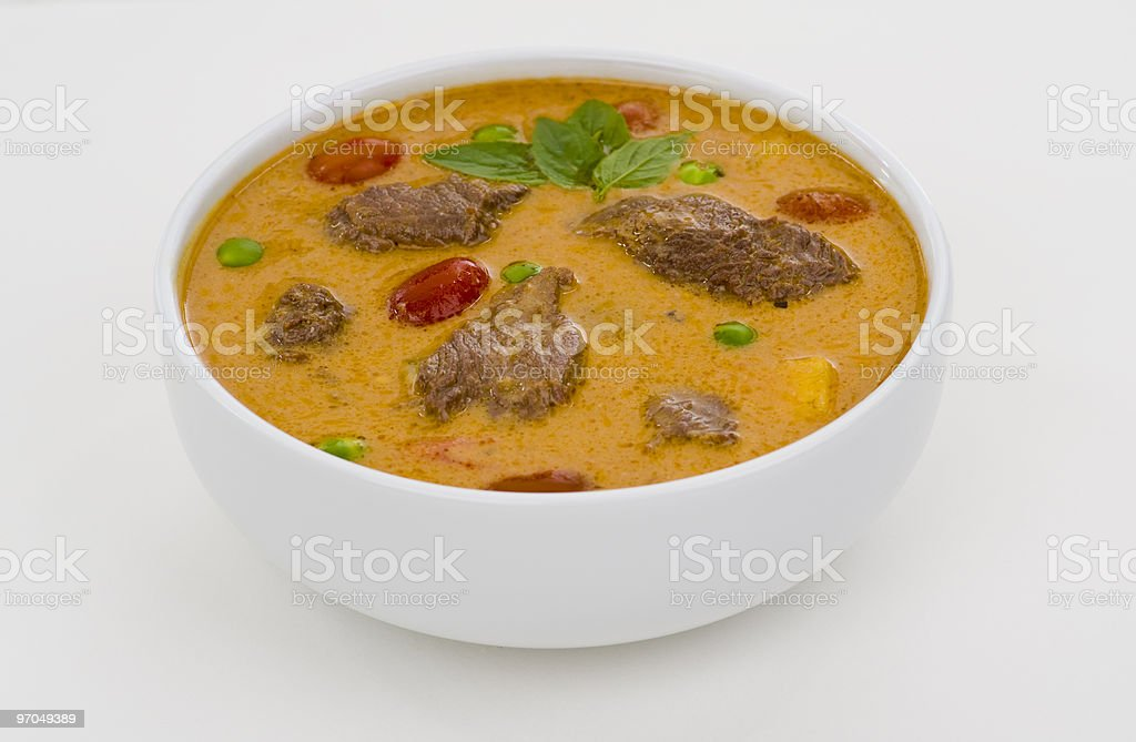 red curry royalty-free stock photo