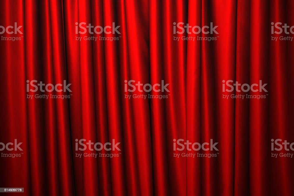 ... Red Curtain Background Stock Photo ...