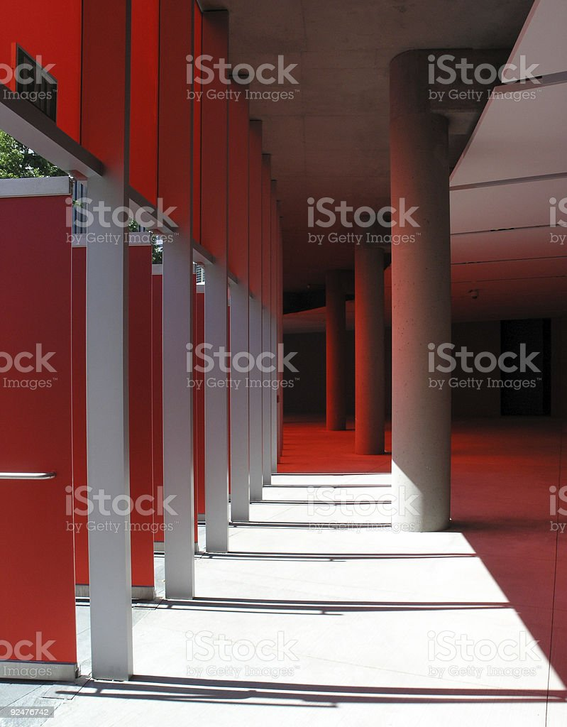 Red Curve royalty-free stock photo