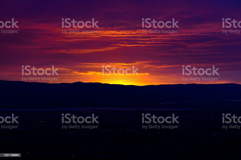 Red Dawn - Royalty-free Ankara - Turkey Stock Photo