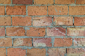 Brick wall icons set. Vector simple set of brick wall vector icons in different colors isolated on white