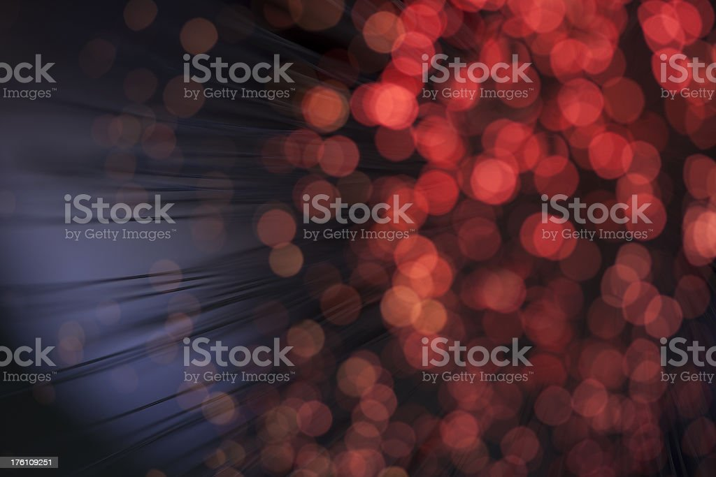 Red defocused Background lights royalty-free stock photo