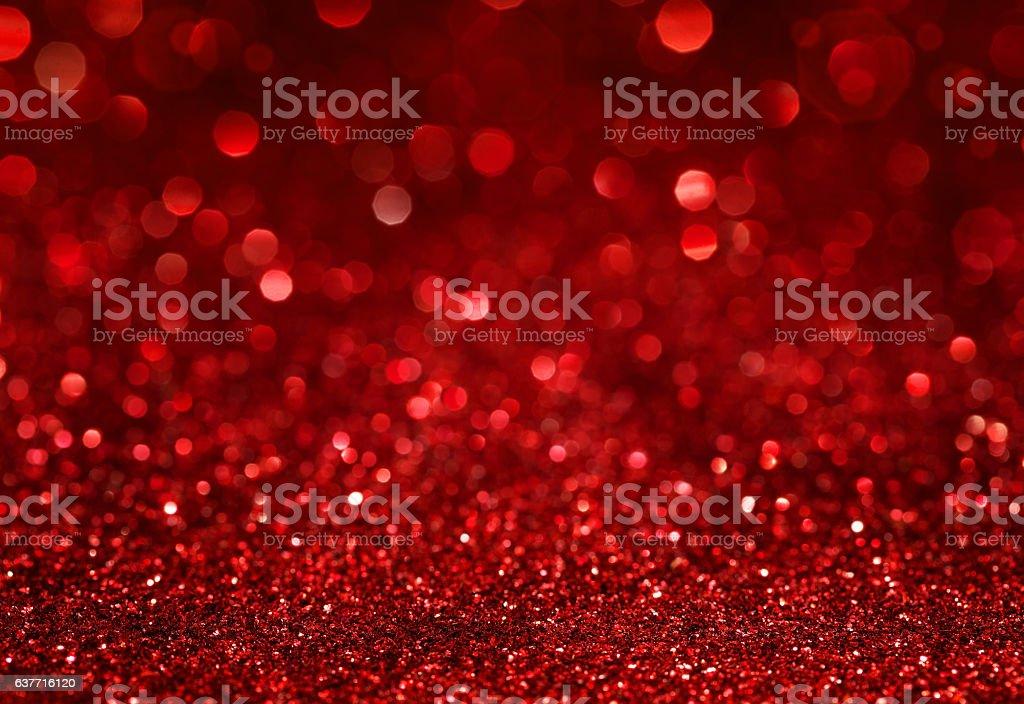 Red defocused background stock photo