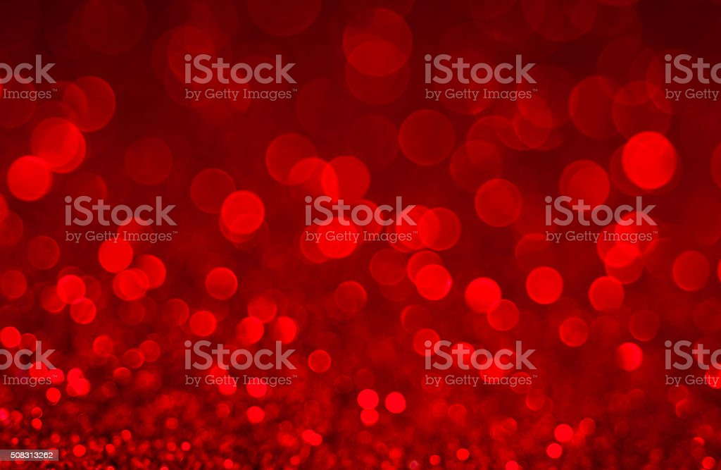 Red Defocused Glitter Background stock photo