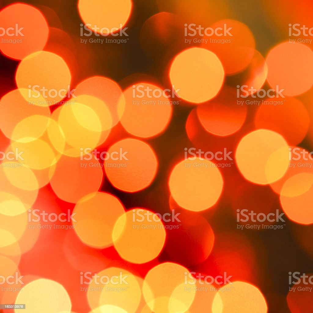 red defocused lights royalty-free stock photo
