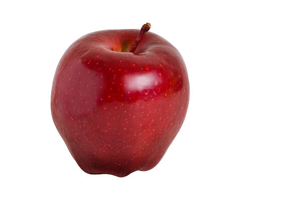 Red delicious Apple perfect - isolated stock photo