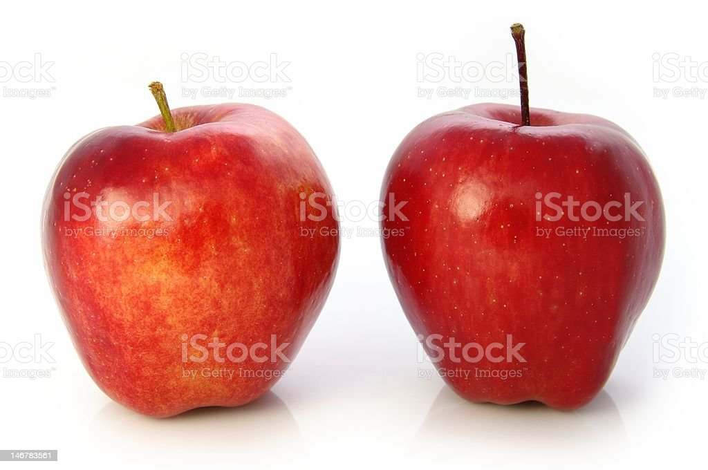 Red Delicious Apples royalty-free stock photo