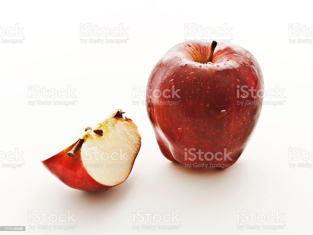 red delish stock photo