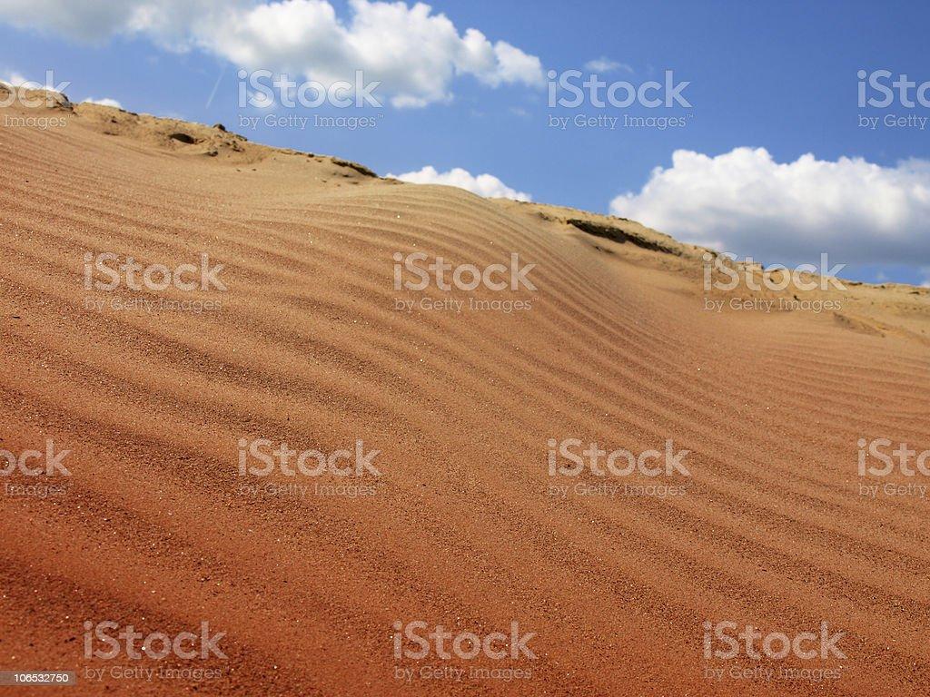 red desert royalty-free stock photo