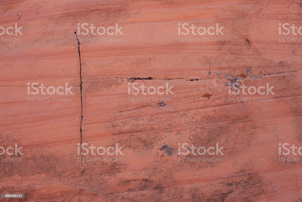 Red desert rock wall royalty-free stock photo
