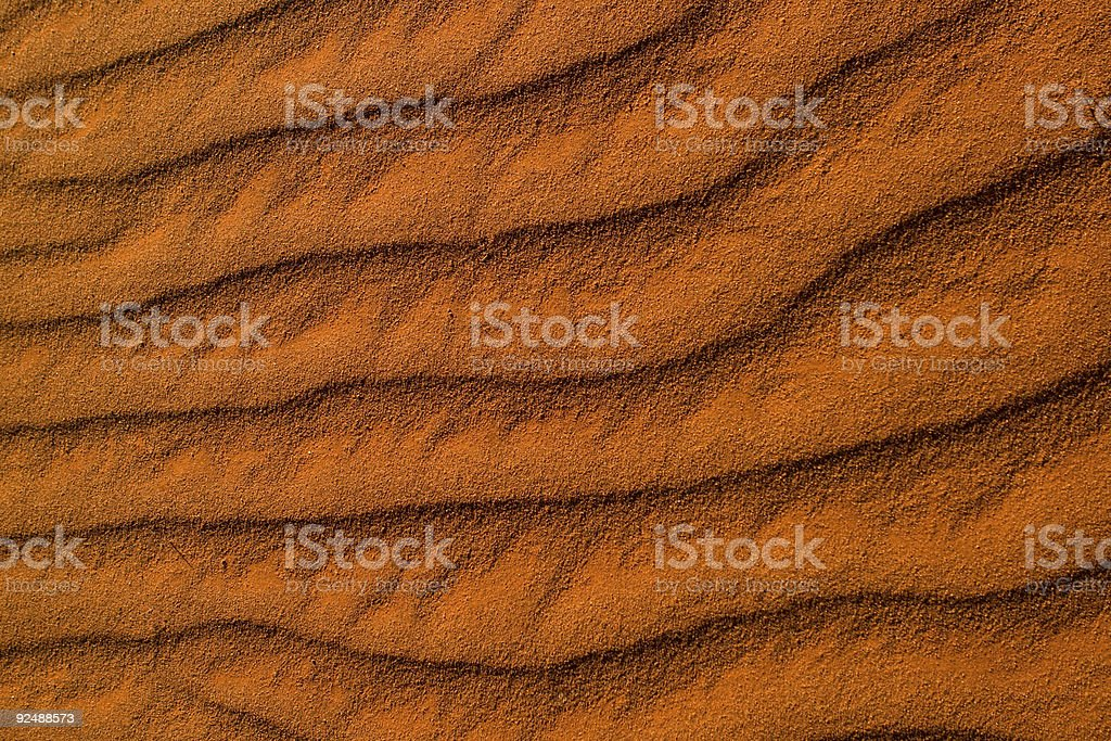 Red Desert Sand royalty-free stock photo