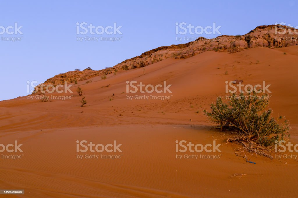 Red Dessert of Dubai - Royalty-free 4x4 Stock Photo