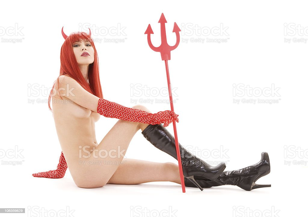 red devil royalty-free stock photo