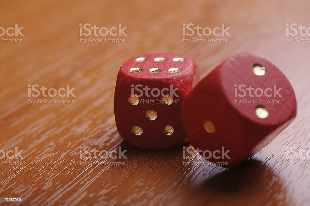 dices rouge photo libre de droits
