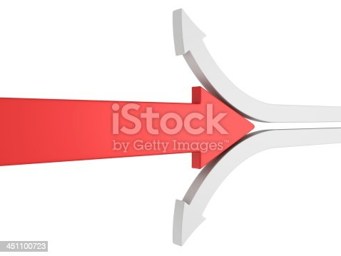 istock red different arrow moves against other white arrows 451100723