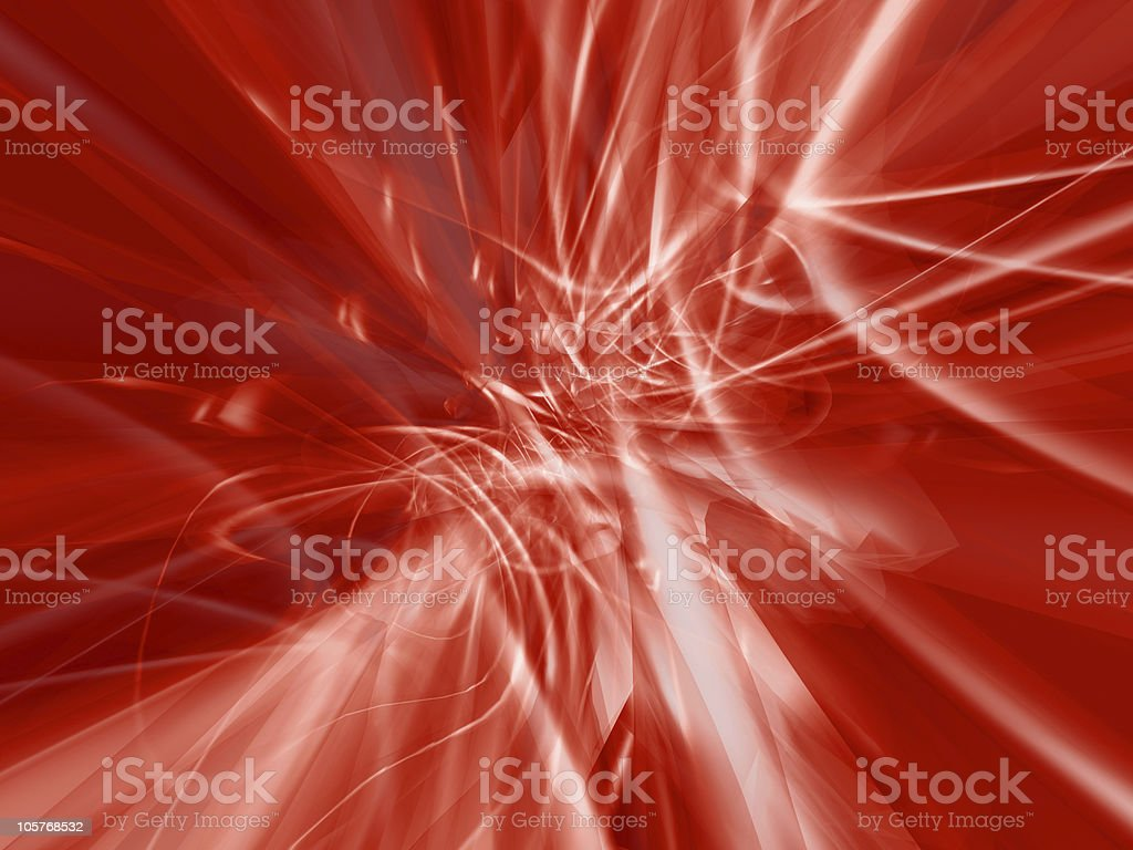 Red digital plasma royalty-free stock photo