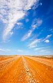 dirt track in outback of Australia