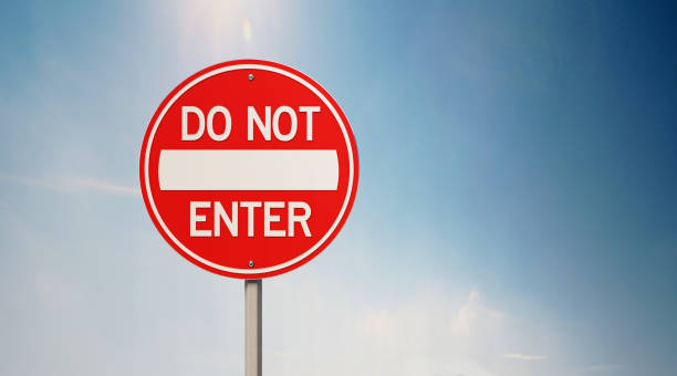 Best Do Not Enter Sign Stock Photos, Pictures & Royalty-Free