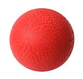 istock Red Dodgeball 895119304