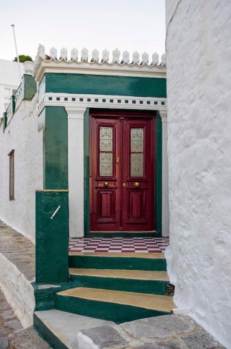 Red Door Stock Photo - Download Image Now
