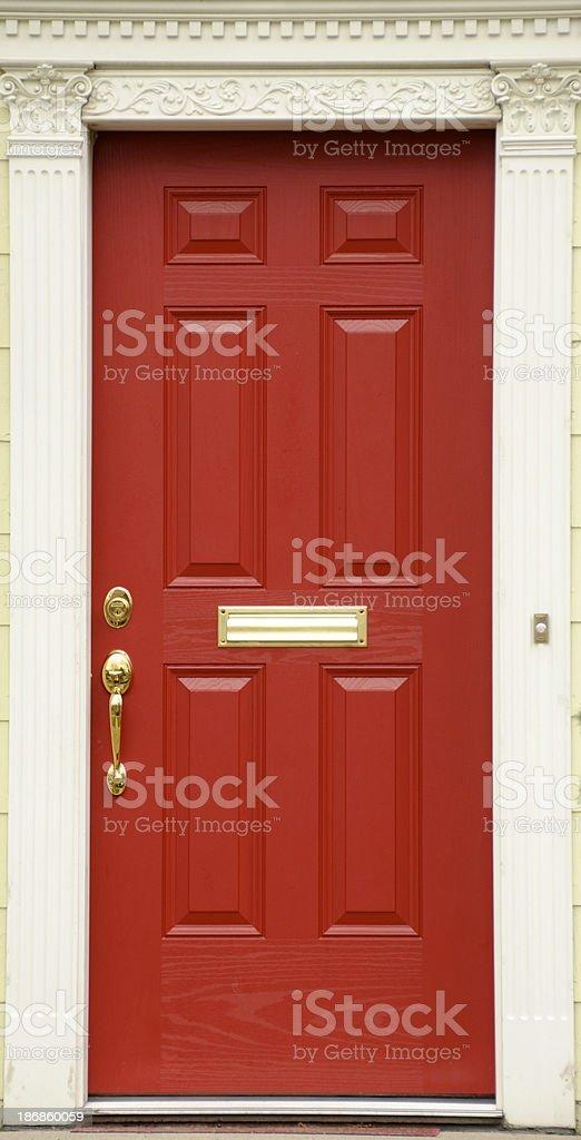 Red Door royalty-free stock photo