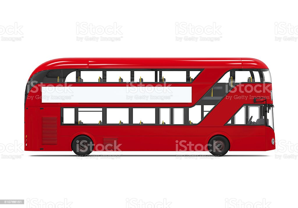 Red Double Decker Bus stock photo
