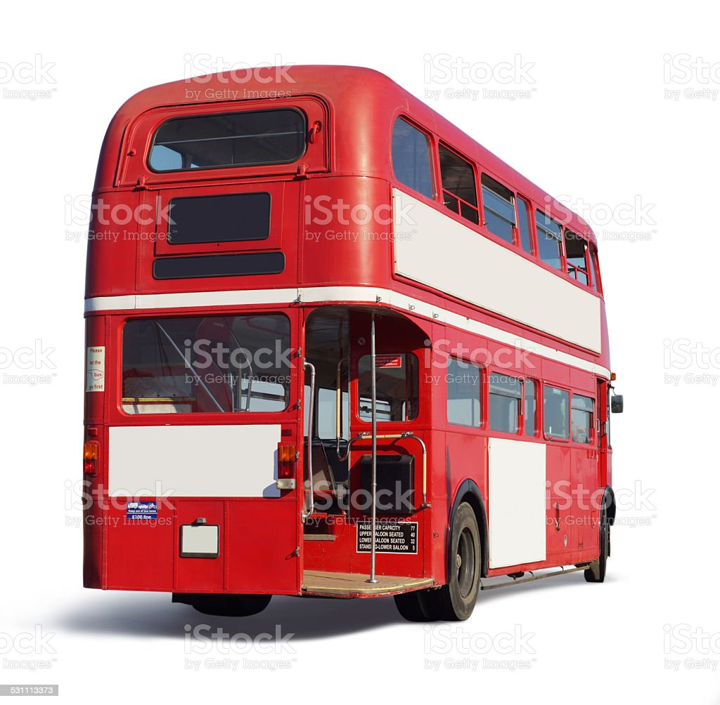 Red Double Decker stock photo