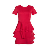 istock Red Dress 1184187157