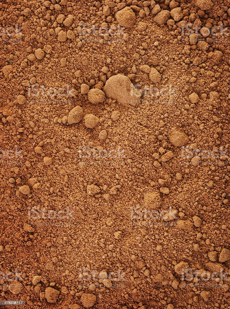red dry clay stock photo