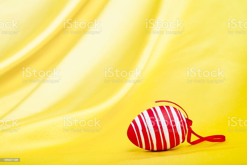 Red Easter Egg royalty-free stock photo
