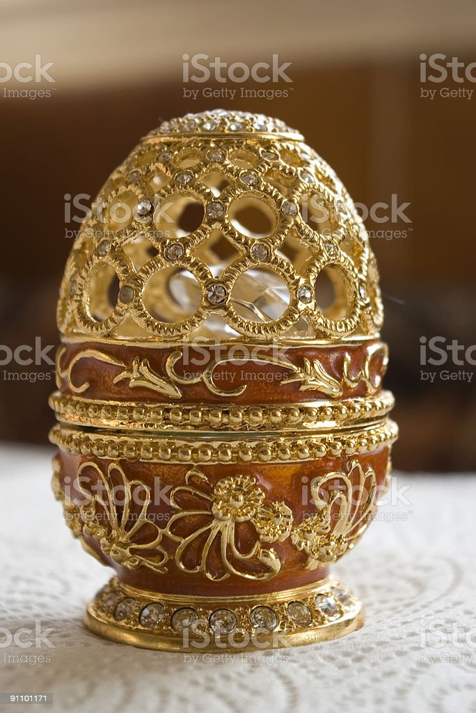 Red Egg royalty-free stock photo