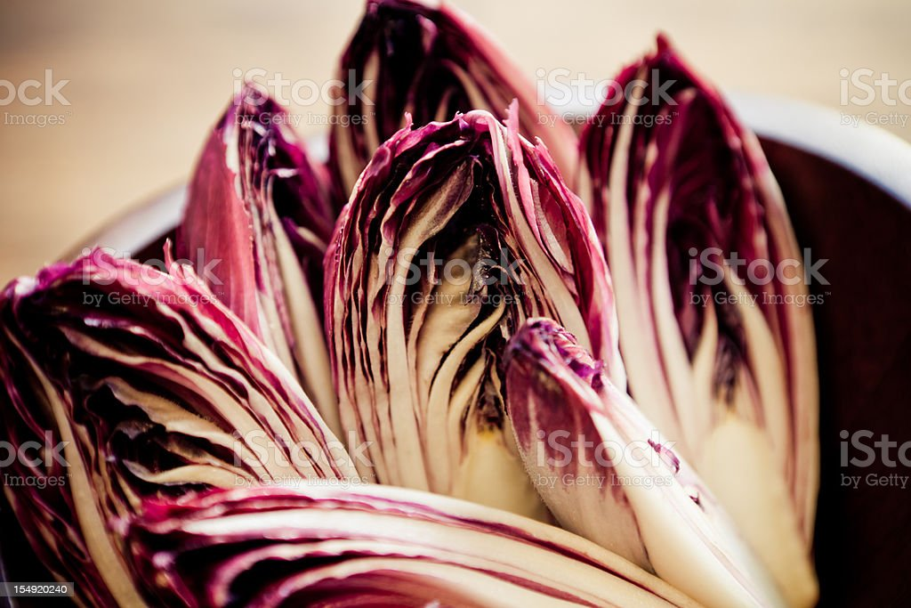 Red Endives stock photo