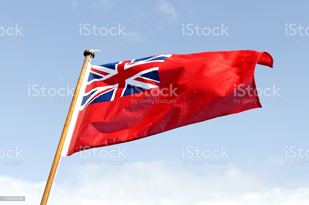 Red ensign - flag royalty-free stock photo