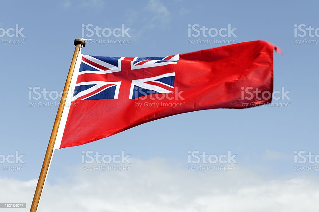 Red ensign - flag stock photo