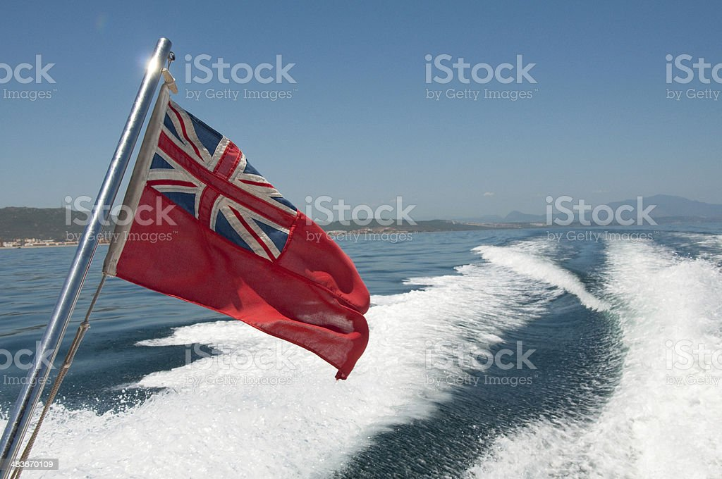 Red Ensign Flag stock photo